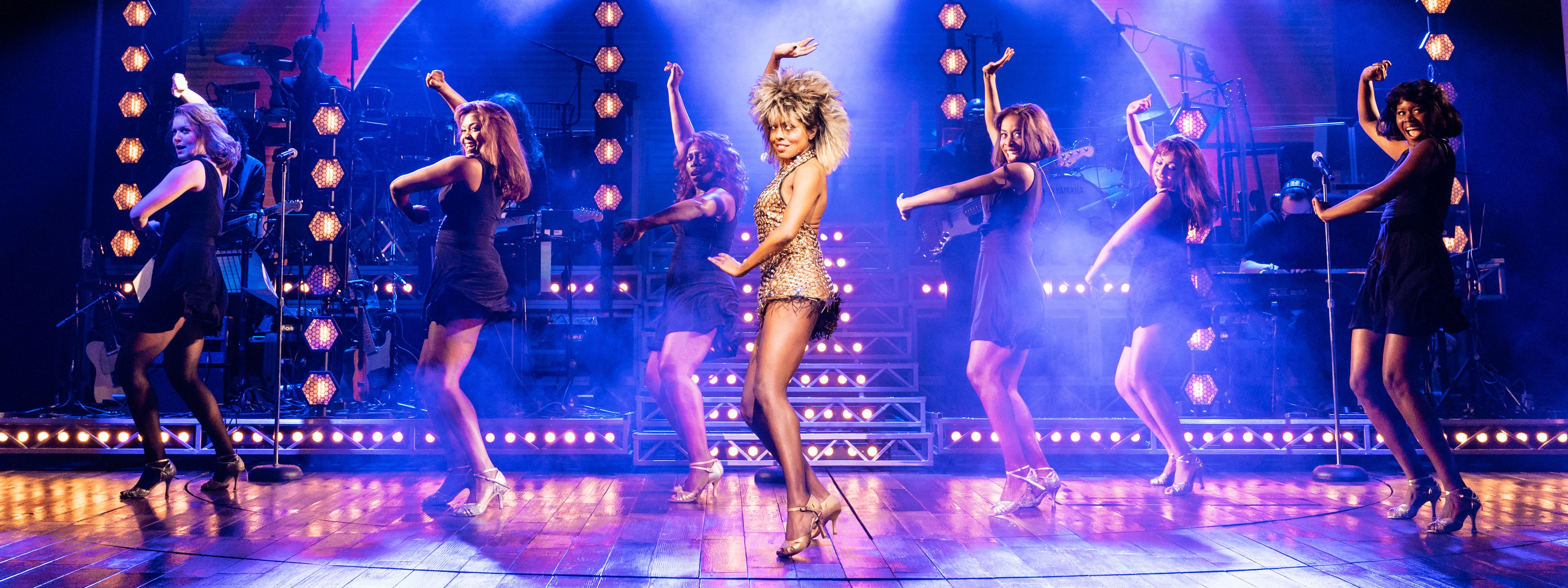 Tina Turner stage show